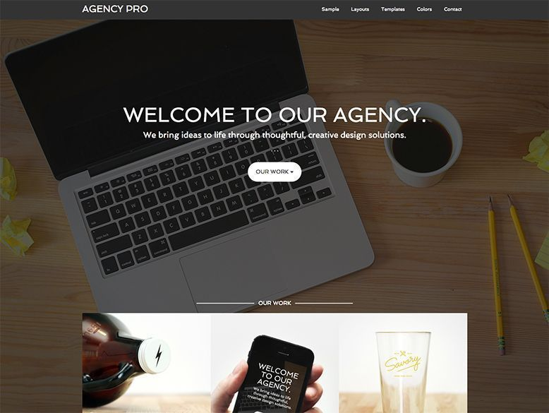 Agency Pro - Tema WordPress para agencias y empresas