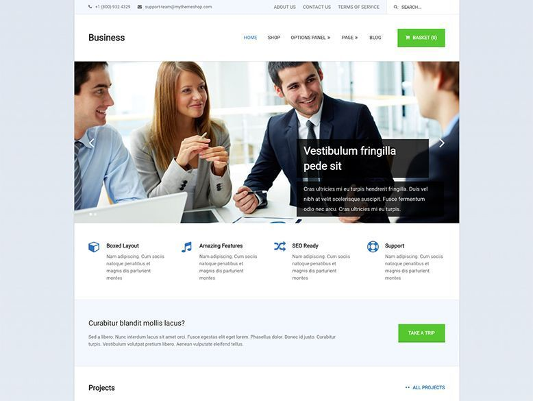 Business - Tema WordPress para empresas y startups