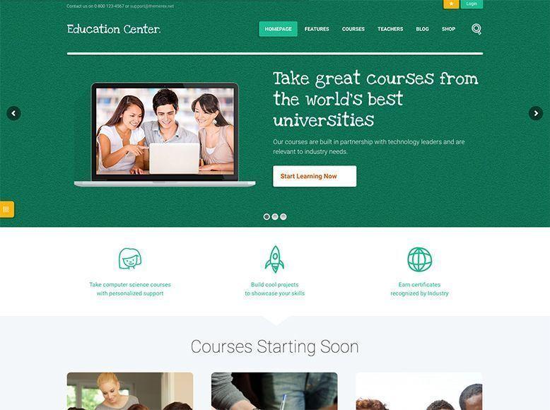 Education Center - Tema WordPress para centros educativos y escuelas