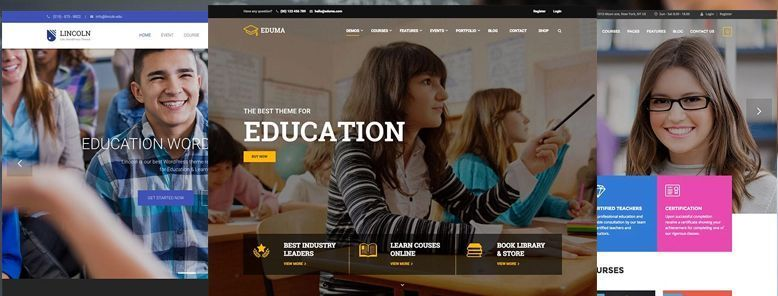 40+ mejores temas WordPress para Educación, Colegios, Academias y Universidades 2017