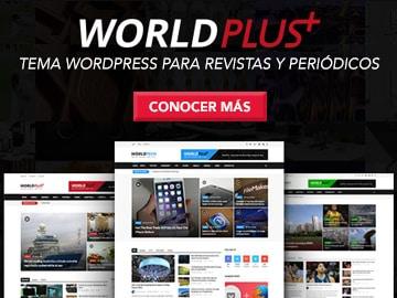 WordPlus - Mejor plantilla WordPress para revistas y periódicos