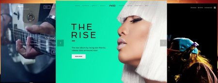 Mejores plantillas WordPress para música