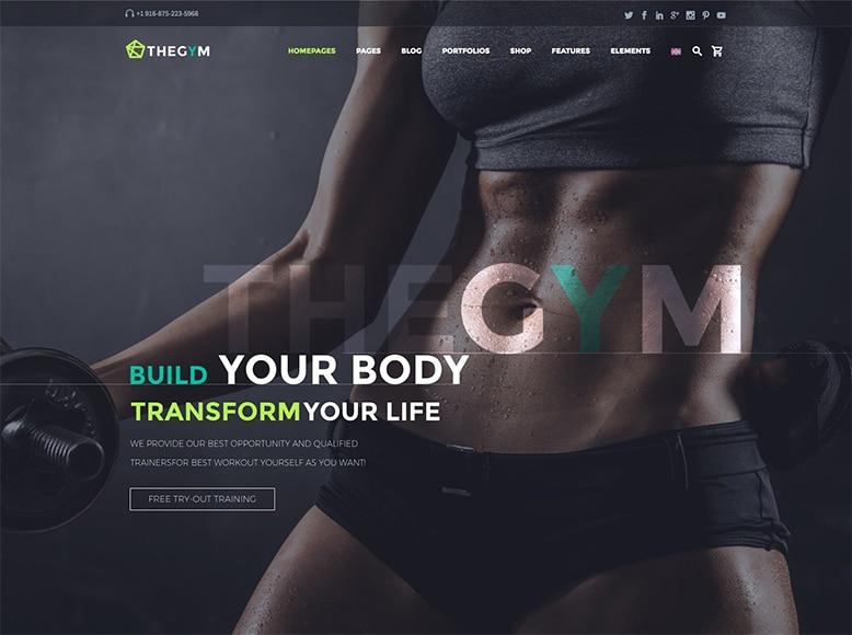 TheGem - Plantilla WordPress moderna para centros de yoga y pilates