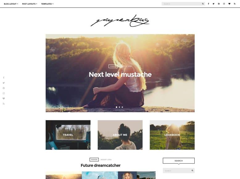 Paperbag - Tema WordPress para blogs personales y fotógrafos