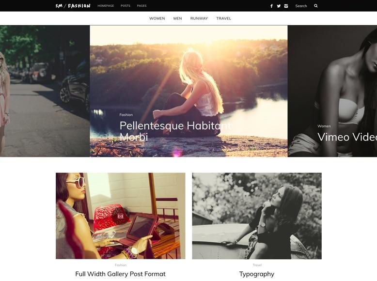 SimpleMag - Tema WordPress minimalista para revistas online de moda y tendencias