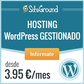 Mejor Hosting WordPress - Siteground