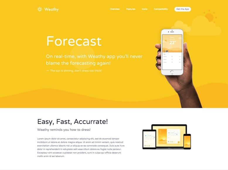 Kalium - Plantilla WordPress creativa para promoción de productos y servicios de empresas