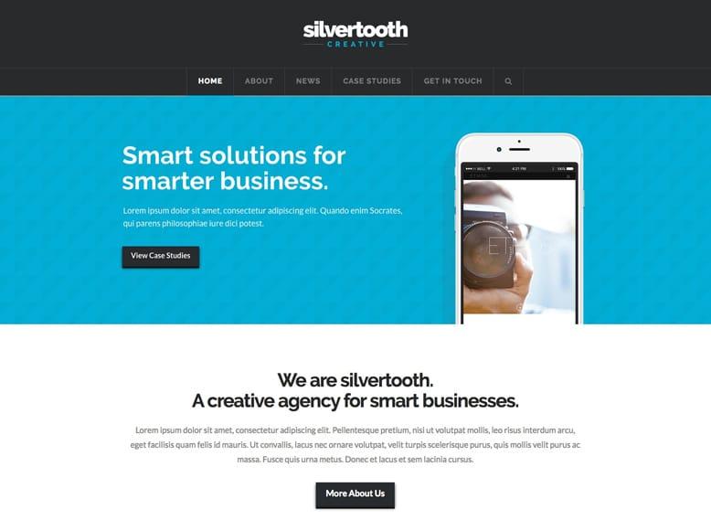 X - Plantilla WordPress para marketing de empresas, productos y apps