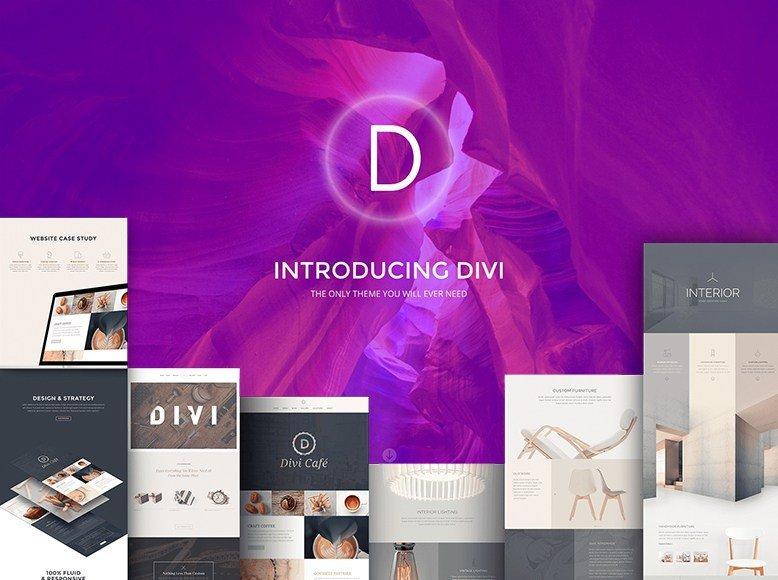 Divi - Plantilla WordPress para revistas digitales y sitios de noticias