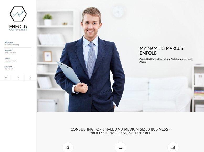 Enfold - Plantilla WordPress para abogados, procuradores, notarios y asesorías de comunidades