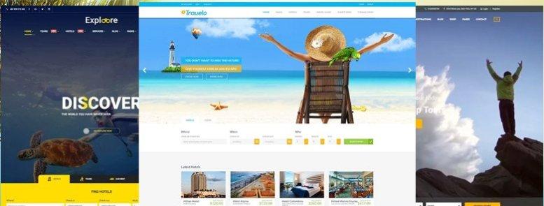 45+ Mejores Temas WordPress de Viajes para Agencias, Tour Operadores y Blogs 2017