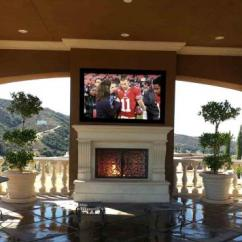 Living Room Ideas With Tv And Fireplace Design Brown Furniture Outdoor | Http://lomets.com