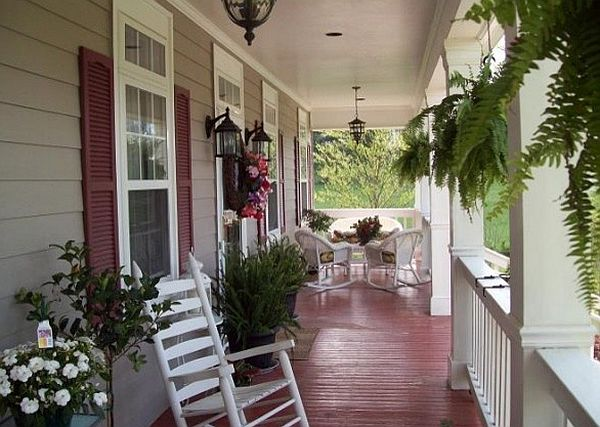 Home porch  httplometscom