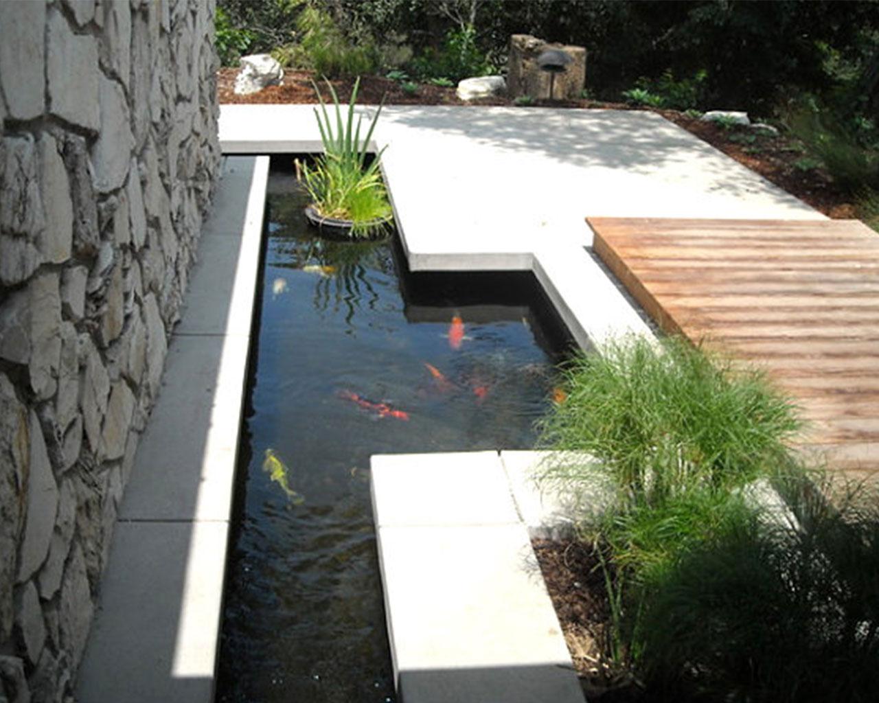 Modern fish ponds  httplometscom