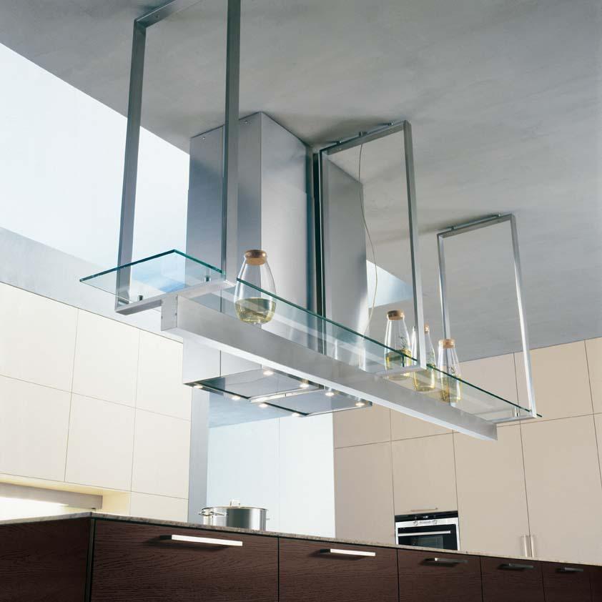 Hanging shelves in kitchen  httplometscom