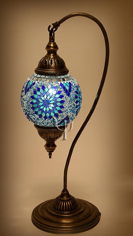 mosaic table lamp  httplometscom