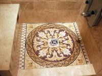 mosaic shower floor | http://lomets.com