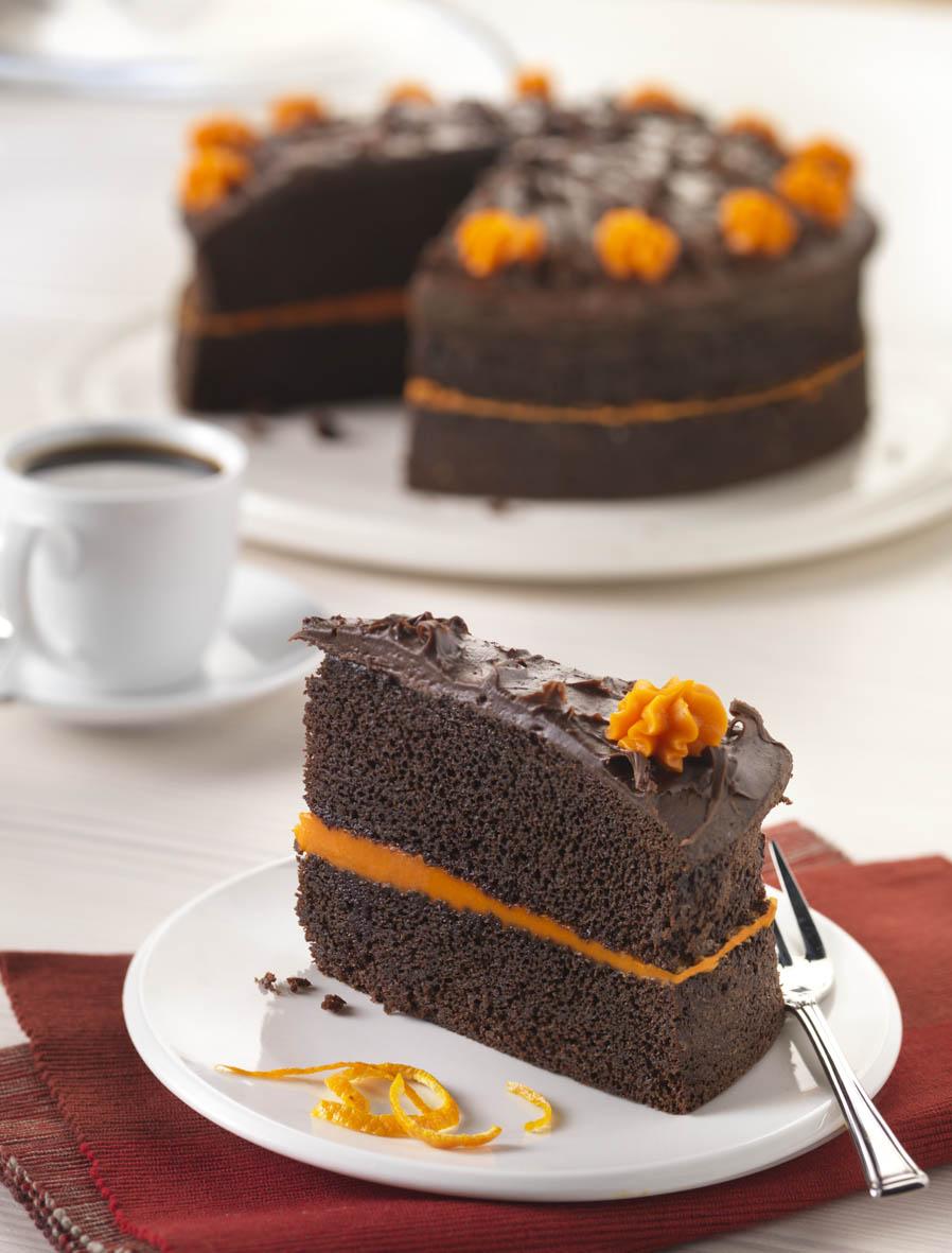 Chocolate Orange Cake Le Chocolat