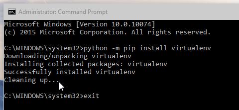 Pydev Virtualenv