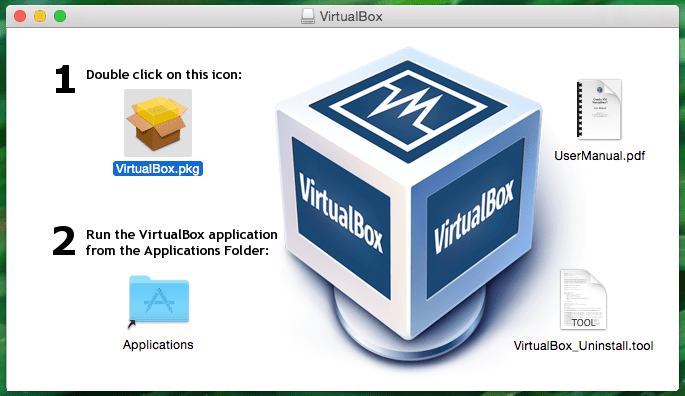 VirtualBox Mac OSX Installer