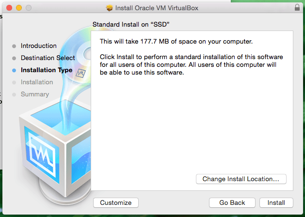Mac OS X Standard Install on SSD Screenshot