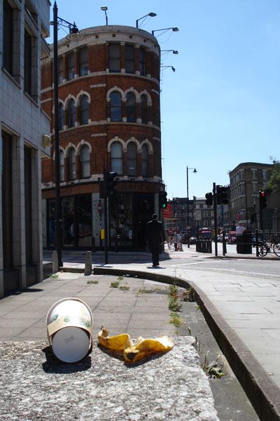 I love this idea of tracking urban detritus