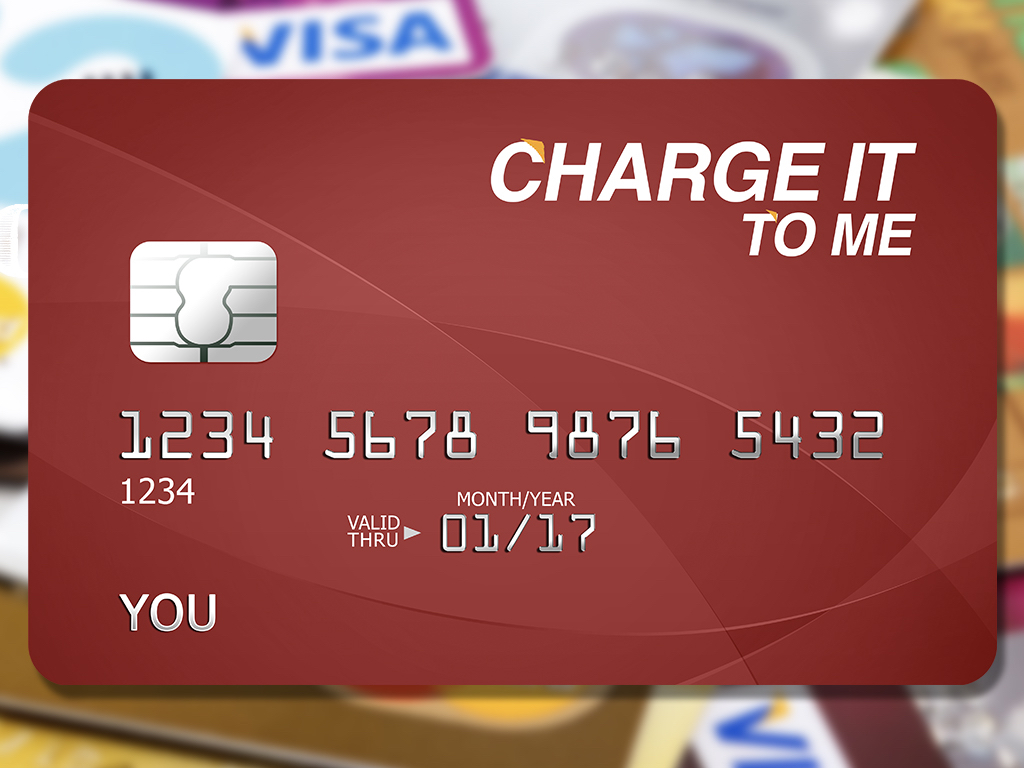 Image result for Charge it to me