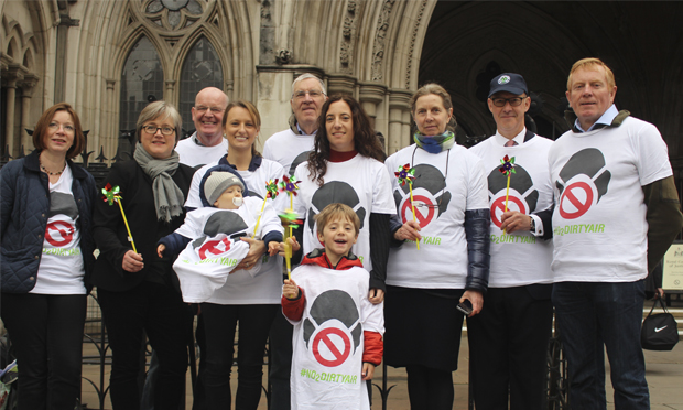 ClientEarth supporters with Caroline Russell