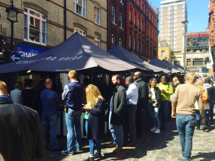 Berwick Street Market, London