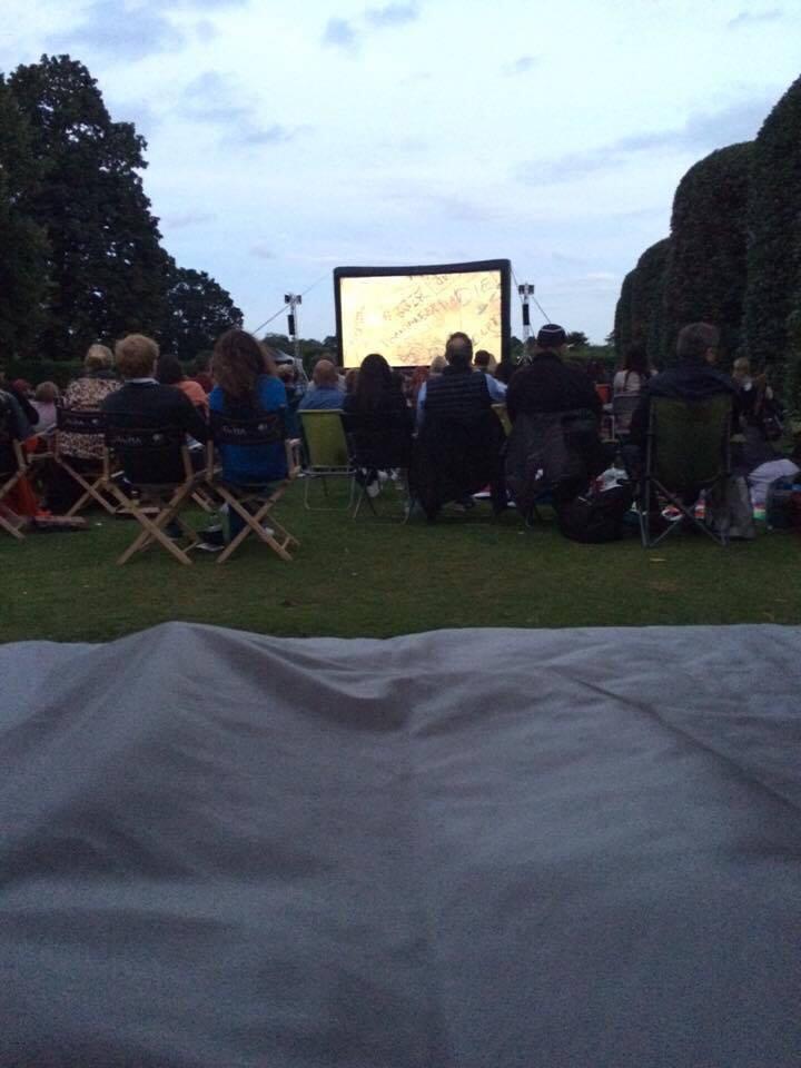 Luna Cinema at Kensington Palace