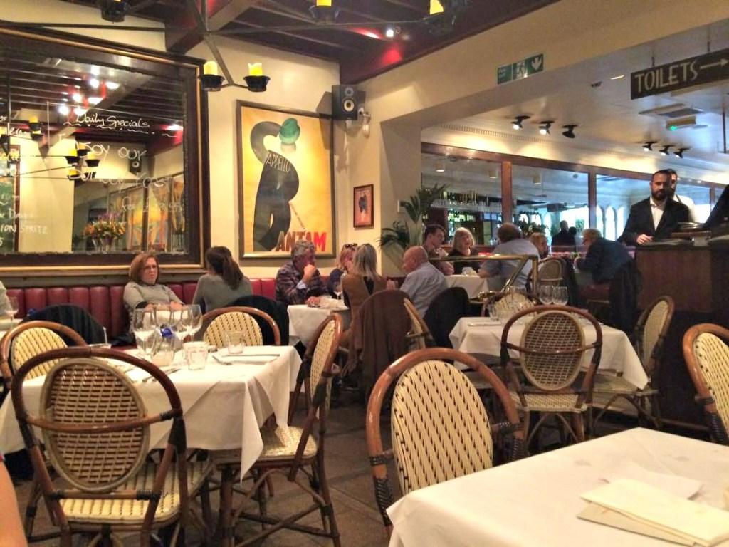 Palm Court Brasserie Covent Garden