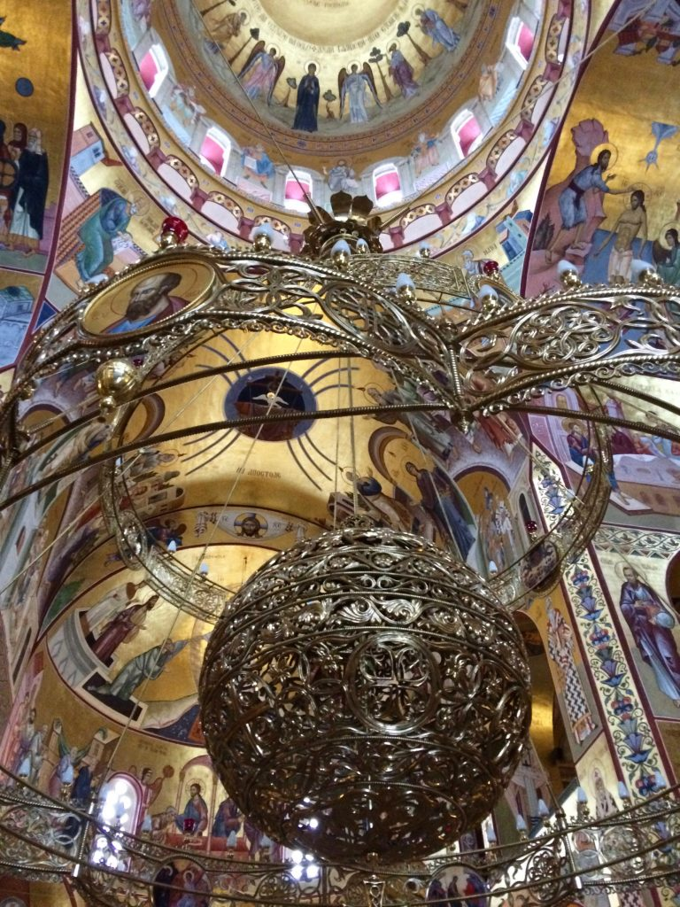 Visiting Montenegro in Winter - Cathedral of the Resurrection of Christ, Podgorica