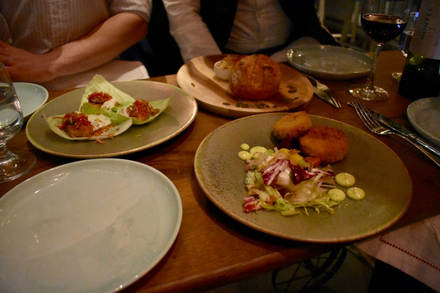 Rail House Cafe Starters Victoria London