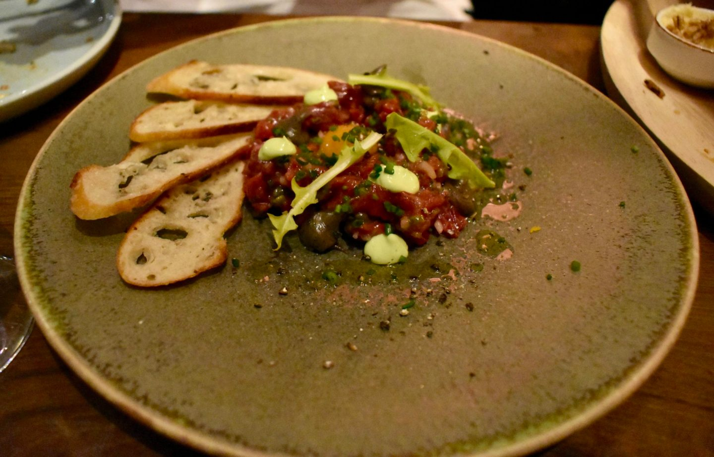 Rail House Cafe Beef Tartare Victoria London