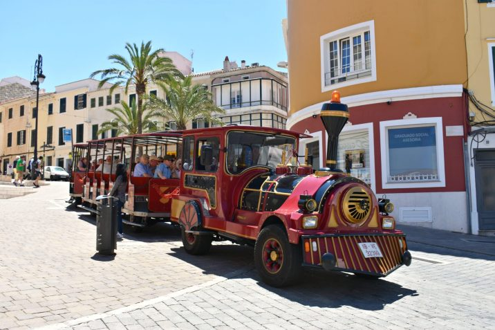 Minorca Spain, Mahon Land Train