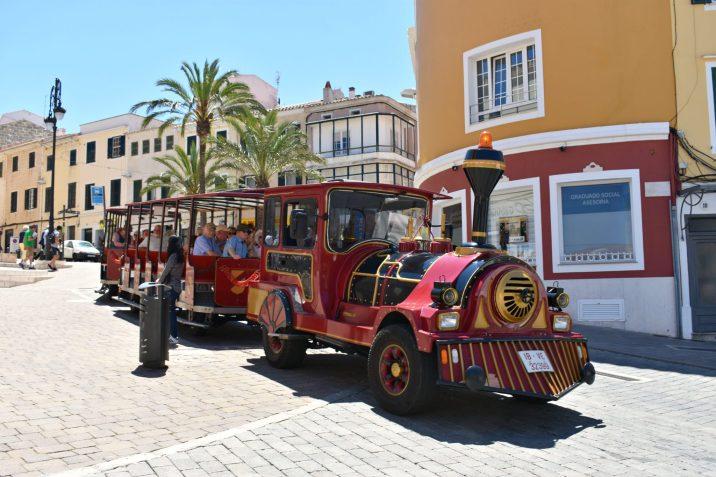 Minorca Spain, Mahon Land Train