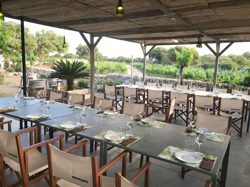 Menorca Bars, Bodegas Binifadet Winery