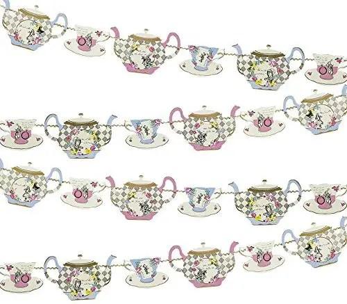Afternoon Tea Teapot Bunting