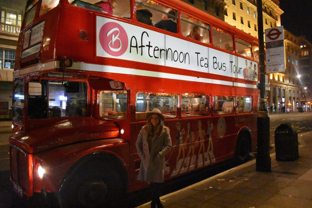 BBakery Afternoon Tea Bus, quirky restaurants in London