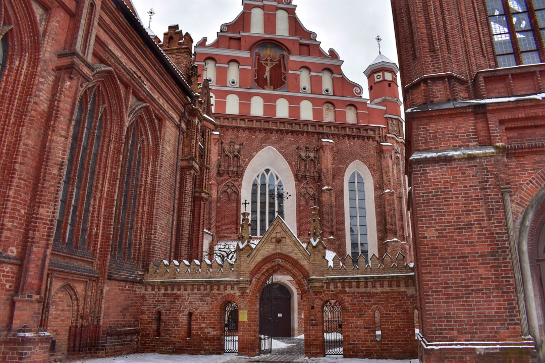 Vilnius Lithuania, St Anne's Church