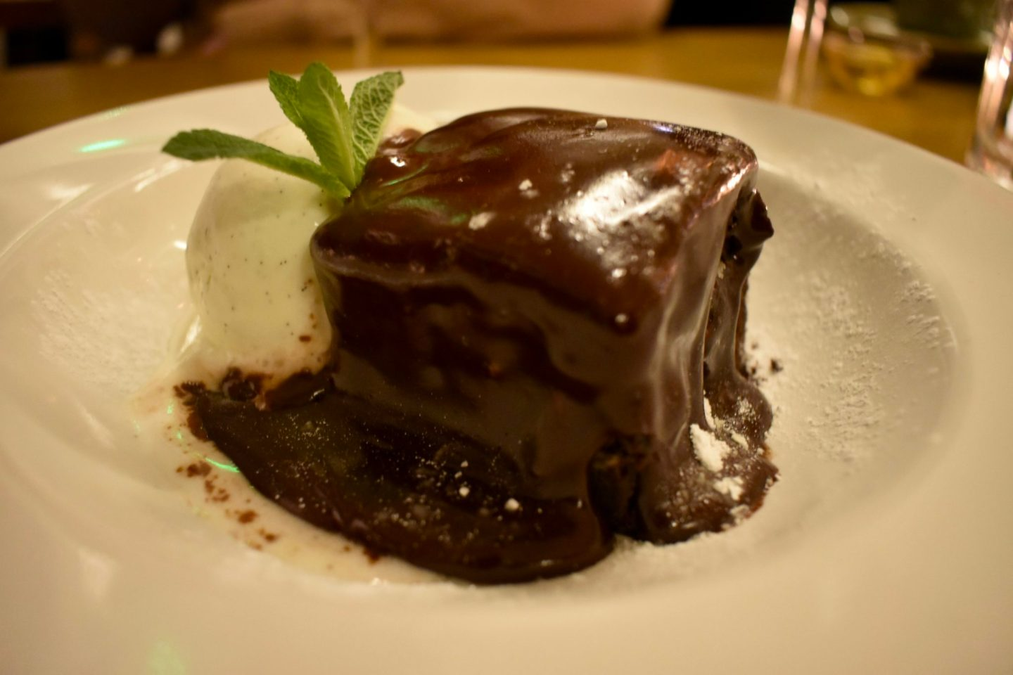 Chocolate Brownie at The Fulham House, London