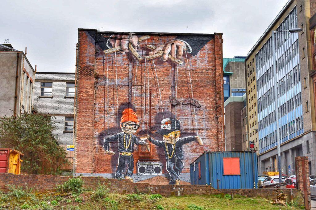 Glasgow Street Art Murals