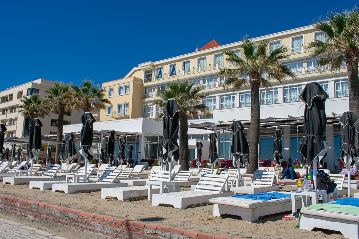 The Adriatik Hotel on Durres Beach Albania