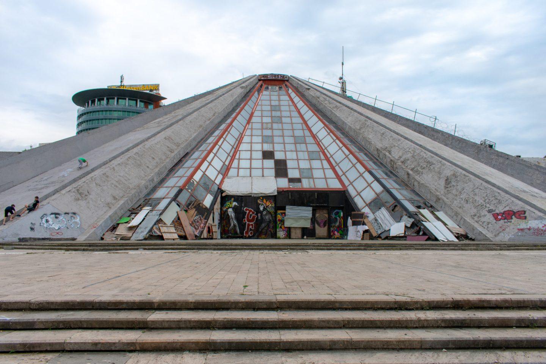 Pyramid of Tirana, Albania