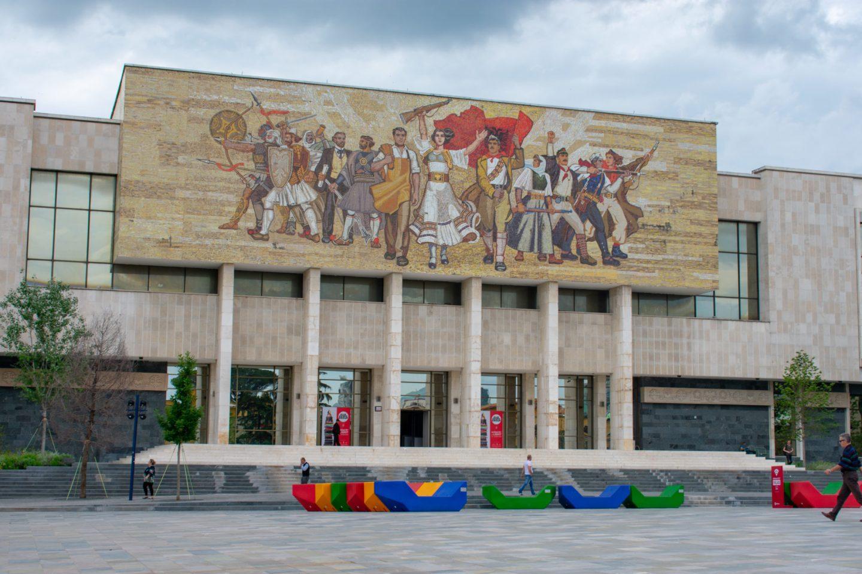 The National Historical Museum, Tirana, Albania