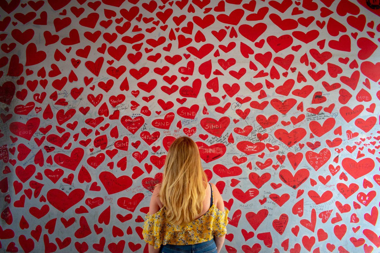Break Ups Heart Wall