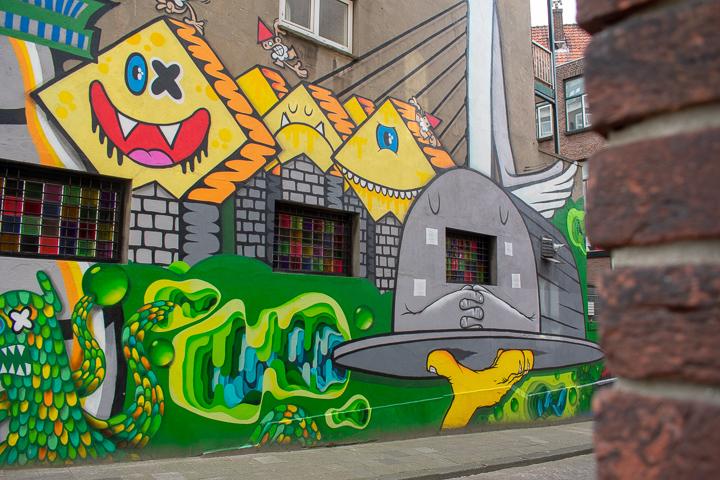 Street Art Rotterdam Netherlands