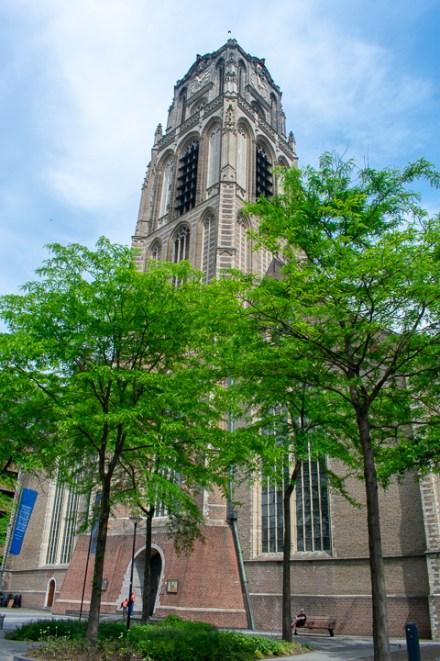 Tower of Laurenskerk Rotterdam