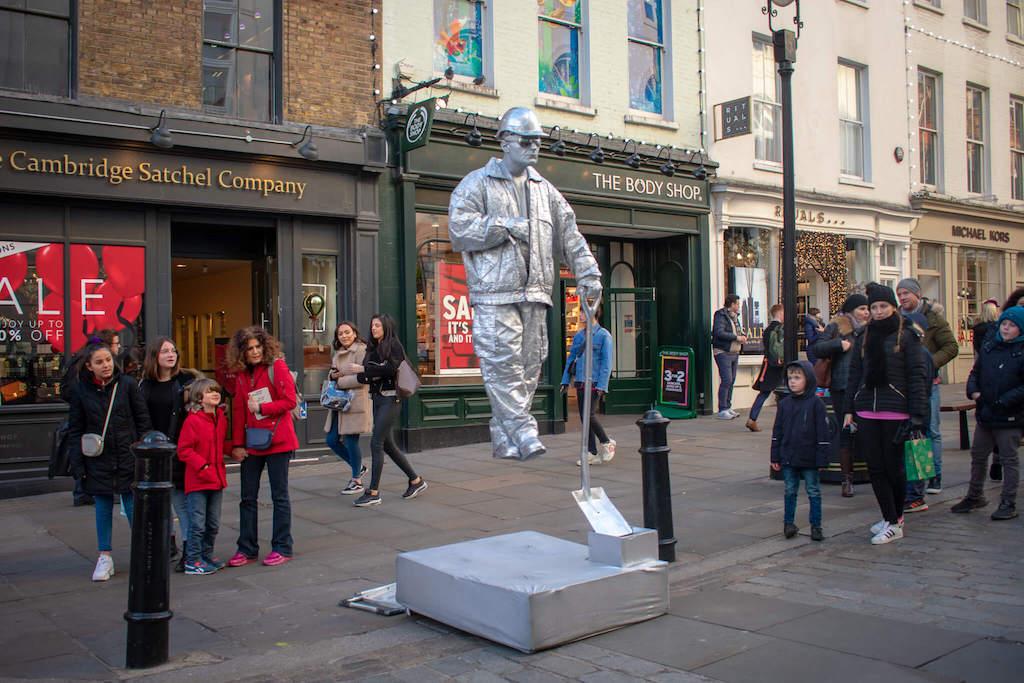Covent Garden Statue