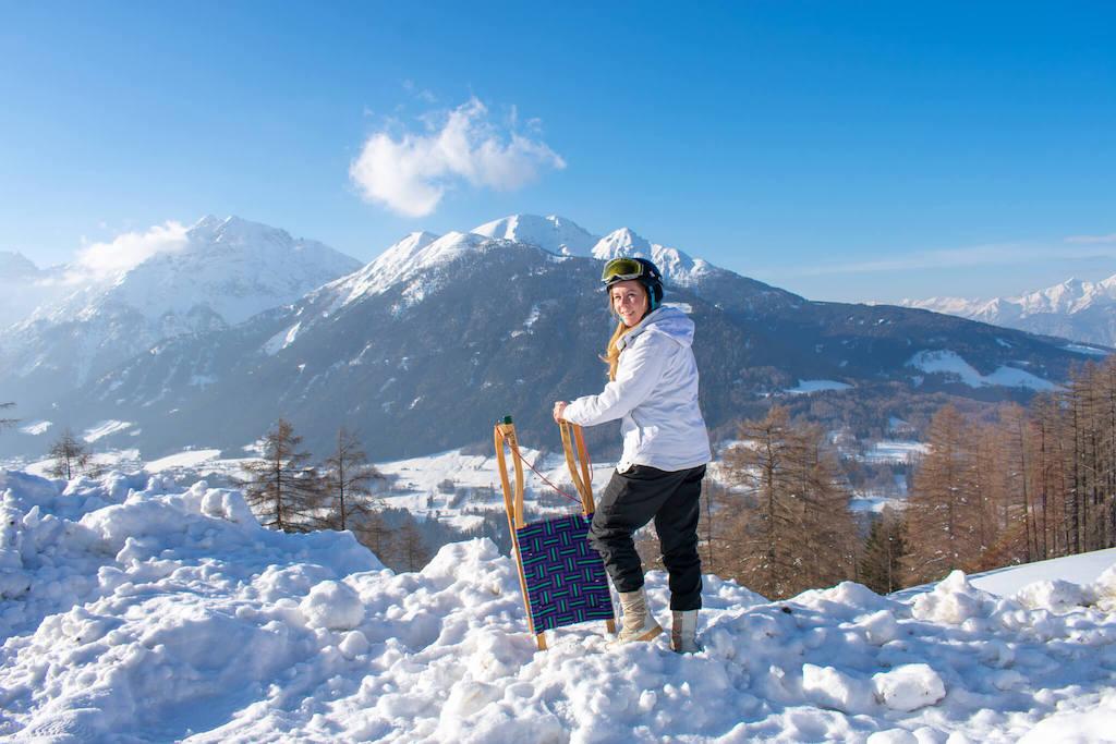 Tirol, Austria - Sledding